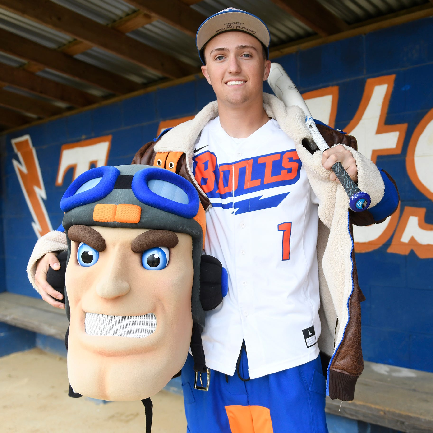 Dom Buonadonna impacts Millville on the baseball field, as the mascot and more