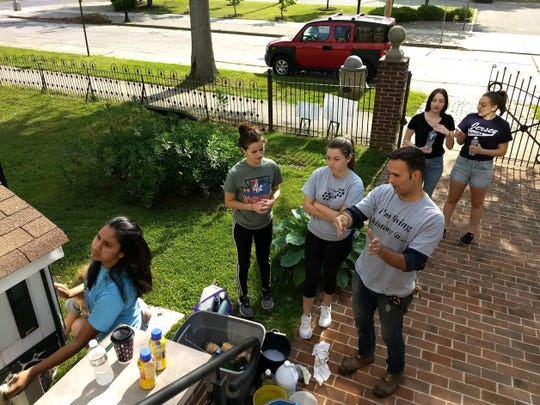Students from Cumberland County Technical Education Center partnered withVineland Historical and Antiquarian Society to complete projects on the society's grounds.