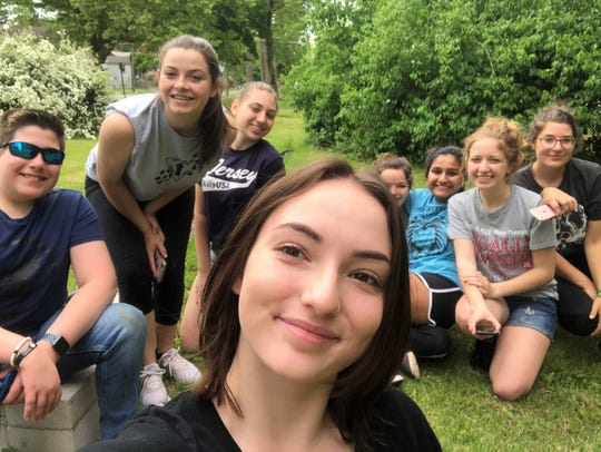 Students from Cumberland County Technical Education Center partnered with Vineland Historical and Antiquarian Society to complete projects on the society's grounds.