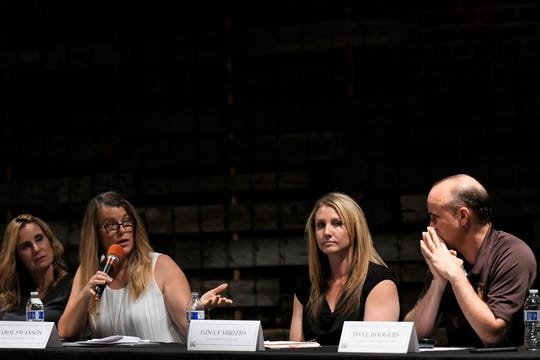 A panel of educators discussed how Visalia Unified School District's PBIS framework is being used.