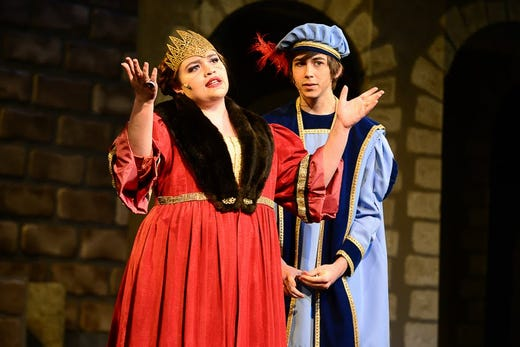 "226b6609c Pascack Valley's production of ""Once Upon a Mattress"" is among the 55  schools in"