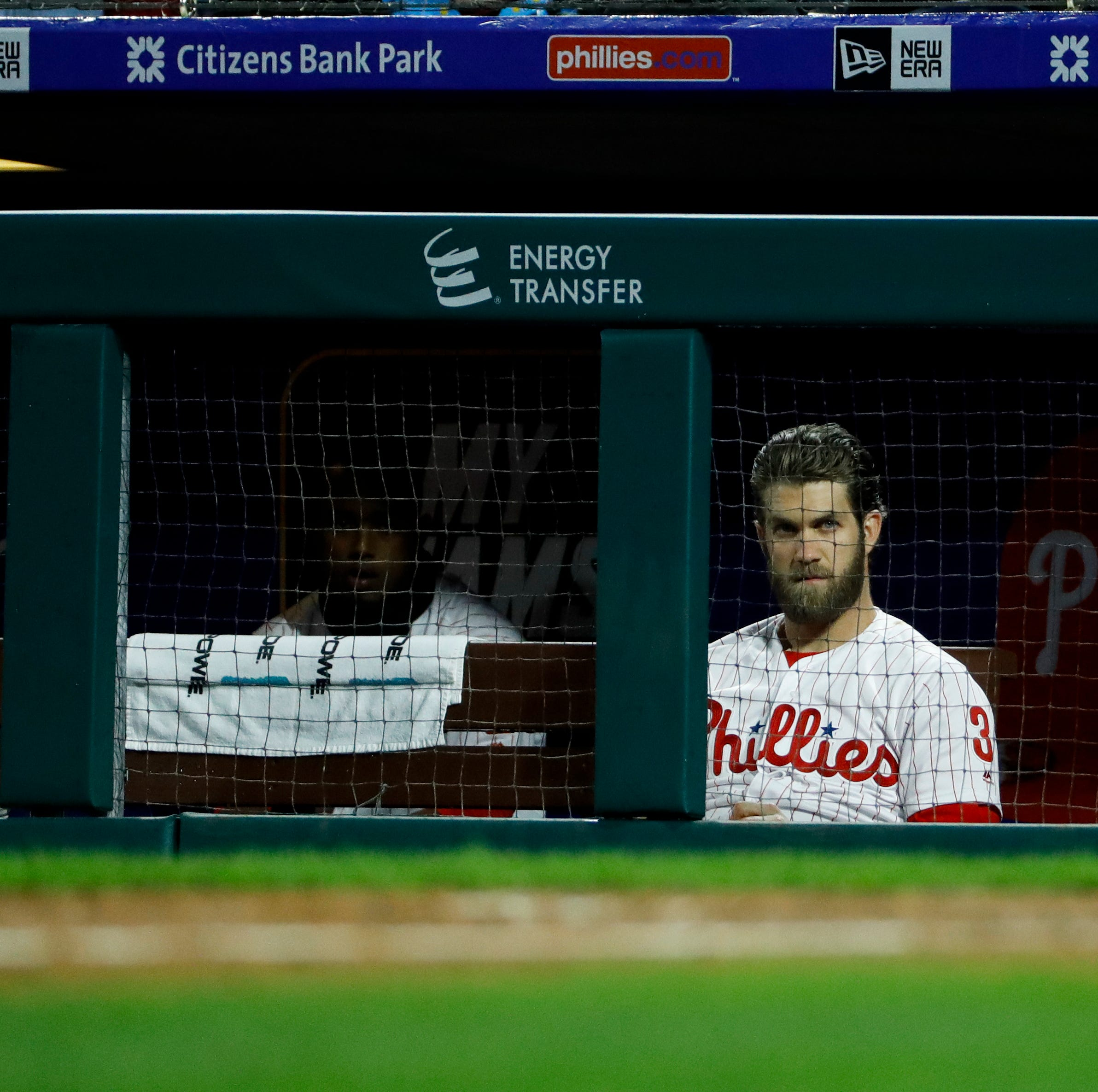 Bryce Harper's not hitting, but he's still helping the Phillies win