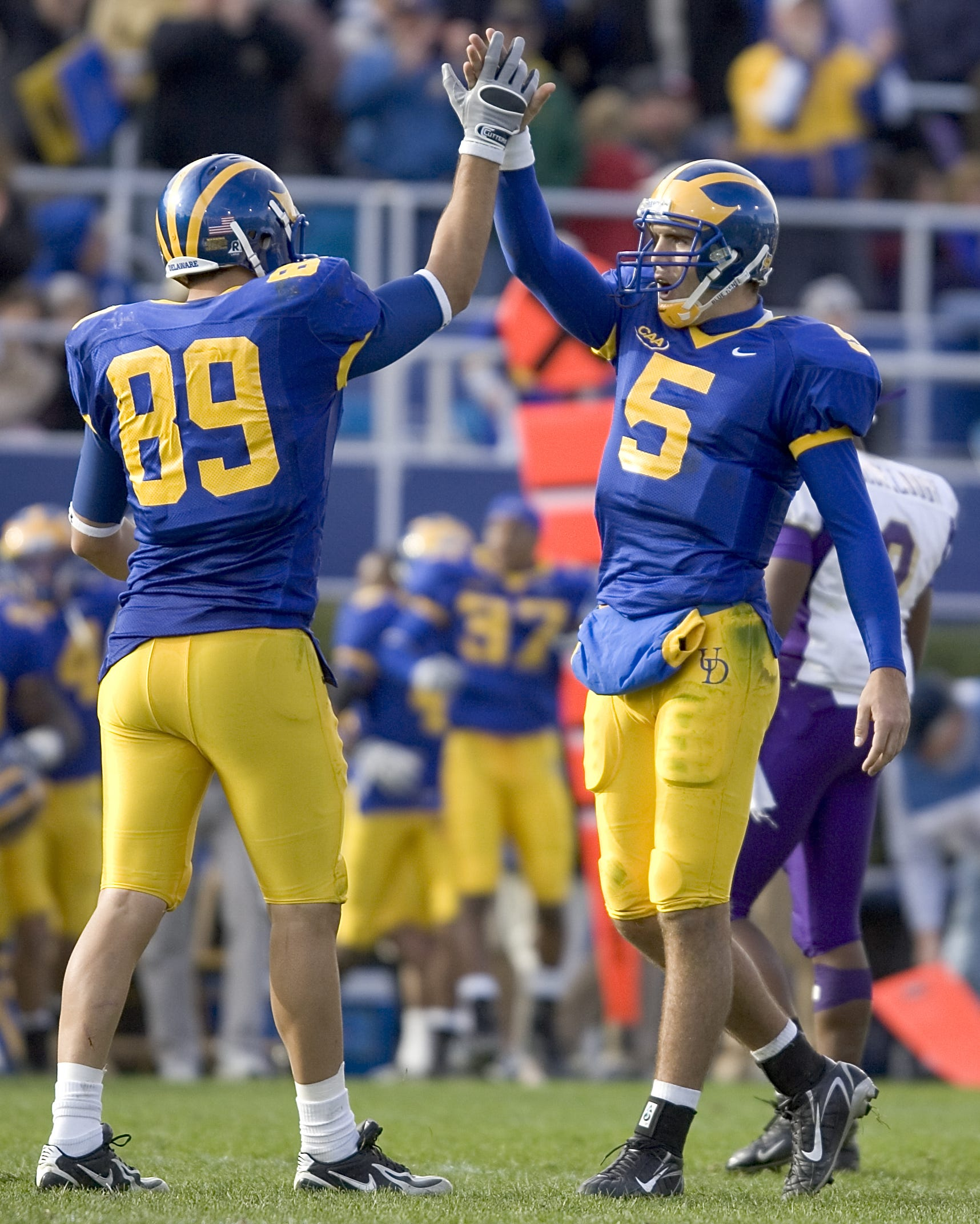 From the archives: Joe Flacco at University of Delaware