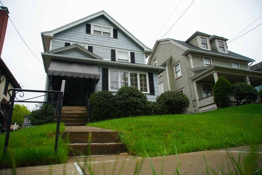 The childhood home of former Vice President Joe Biden in Scranton.