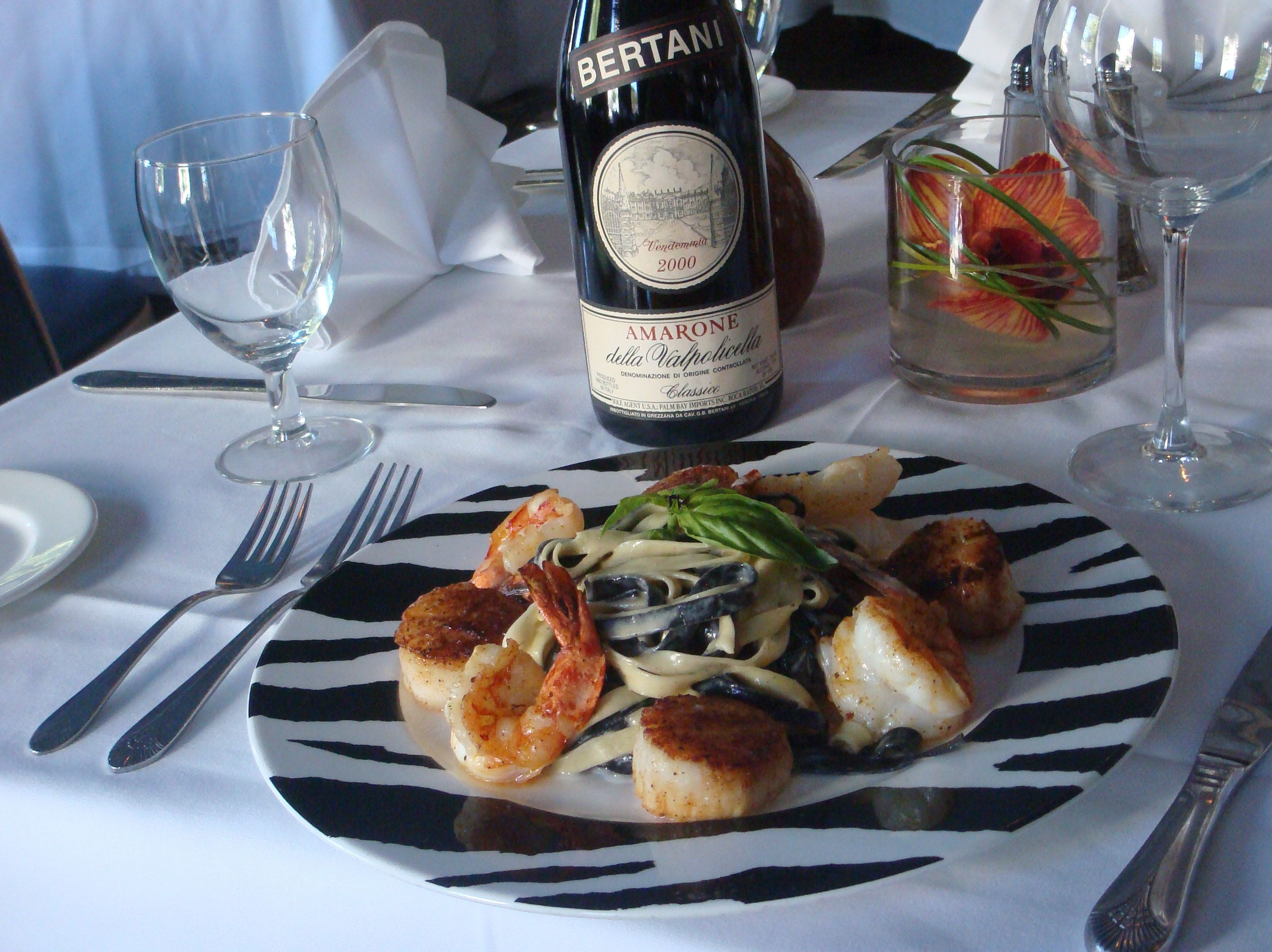The old Ristorante Zebra in Rehoboth, which featured this dish, Tagliatelle Zebra, has closed. It will soon become an Italian seafood eatery operated by Big Fish Restaurant Group.
