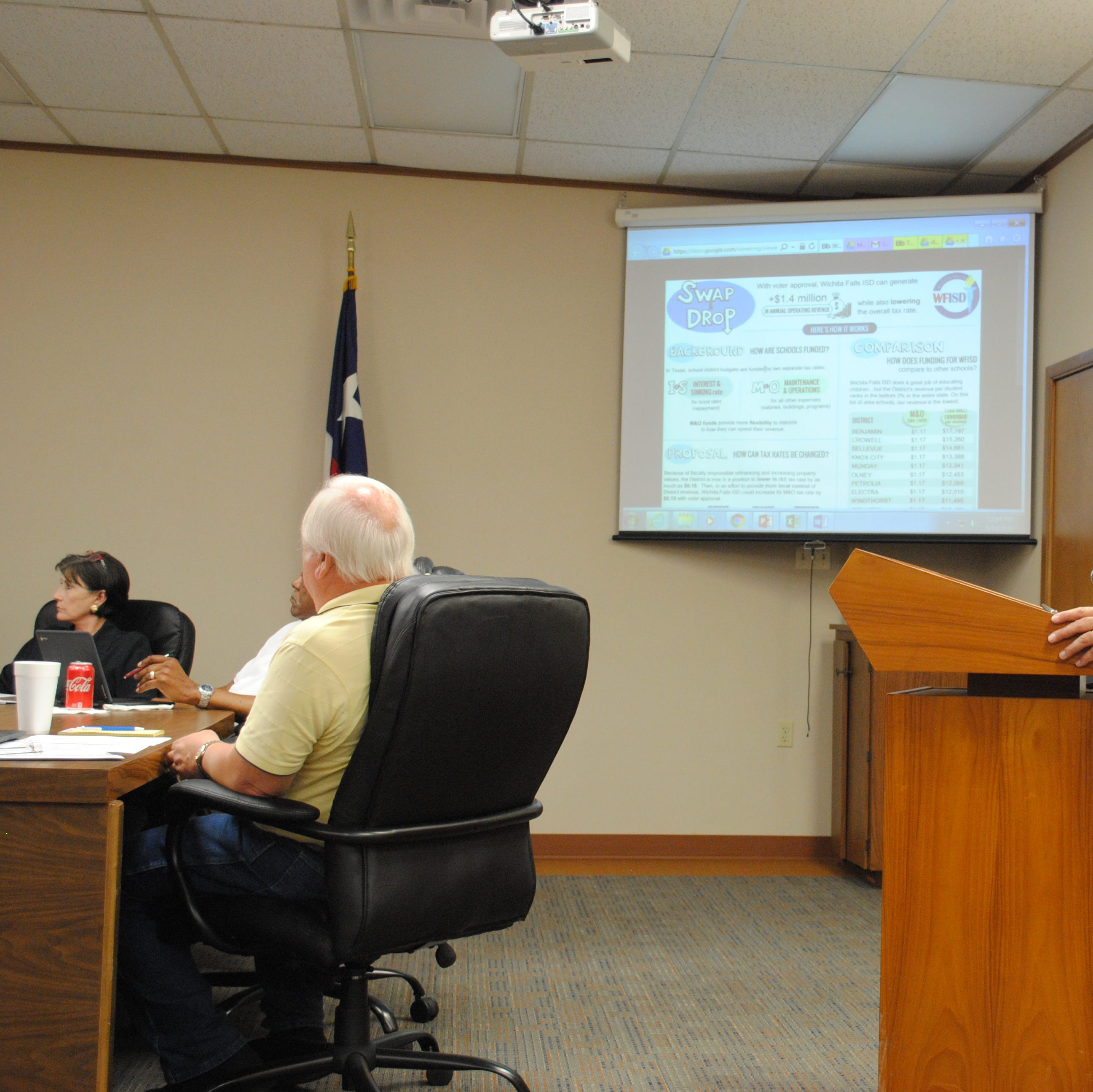 WFISD tax proposal could lowers rate, increases revenue