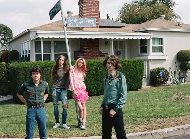"""Los Angeles band Starcrawler is one of seven regional acts featured in """"City/Valley A Concert of the Brekfast Festival,"""" just released on Apple Music on May 10. The collection shows a remarkably strong scene of young bands currently performing in Los Angeles/San Fernando Valley."""