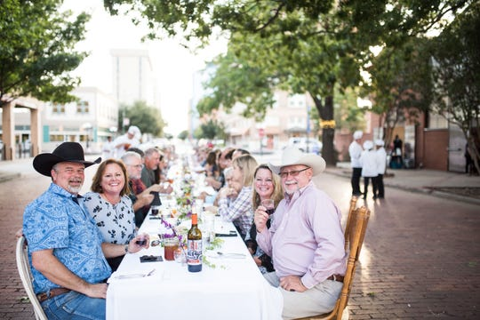 The 2019 Spring Long Table will be held from 6 to 9 p.m. Monday May 20 next to the Downtown Wichita Falls Farmers Market under the stars. A four course meal will be served, most of which, is locally sourced.