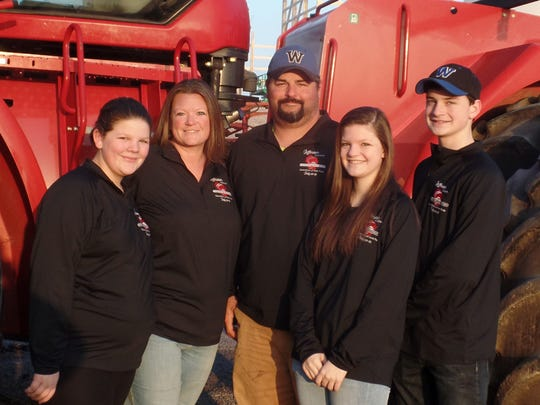 Adam and Heather, along with their children, will help host Farm Technology Days on the Walters Grain Farms in Jefferson County this summer.