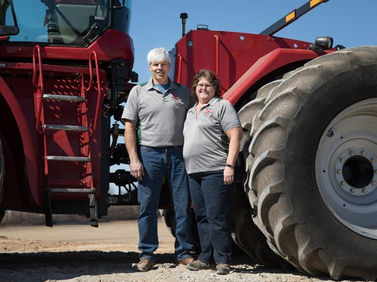 Mike and Sarah Walters took over the family farm from Mike's parents, Bud and Bev Walters in 1992, naming it M&S Farms. The farm and family grew quickly and in 2003 the Walters decided to rename the farm Walter Grain Farms.