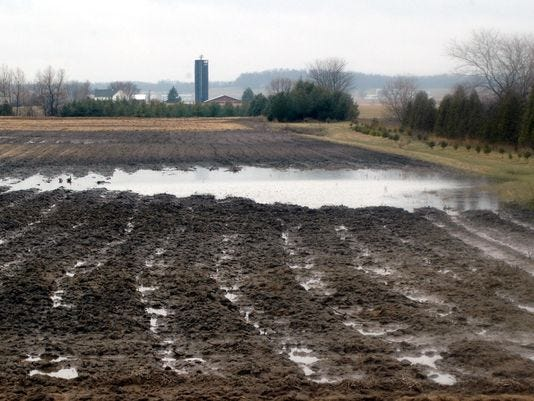 Wet conditions has delayed the planting season throughout the Upper Midwest and the Corn Belt...areas where the prevented plant deadline has already passed.