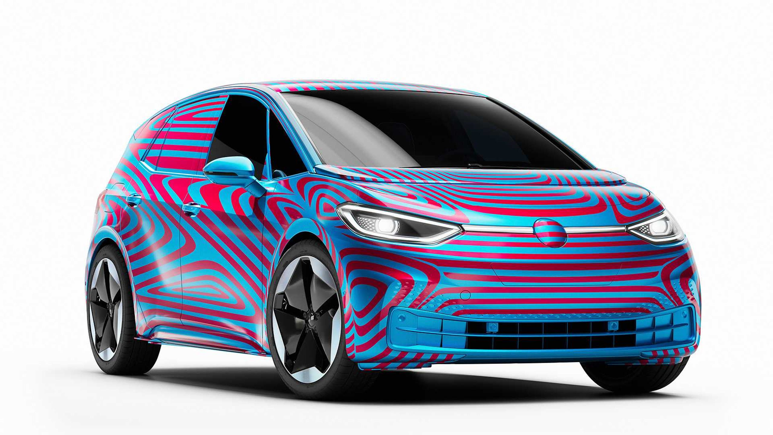 Here S A Peak At Volkswagen New Long Range Electric Car