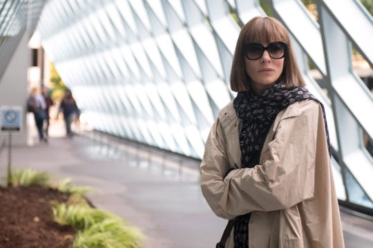 "Much of the book ""Where'd You Go, Bernadette"" is told through emails, which director Richard Linklater translated from page to screen by having Bernadette (Cate Blanchett) dictate messages with her phone."
