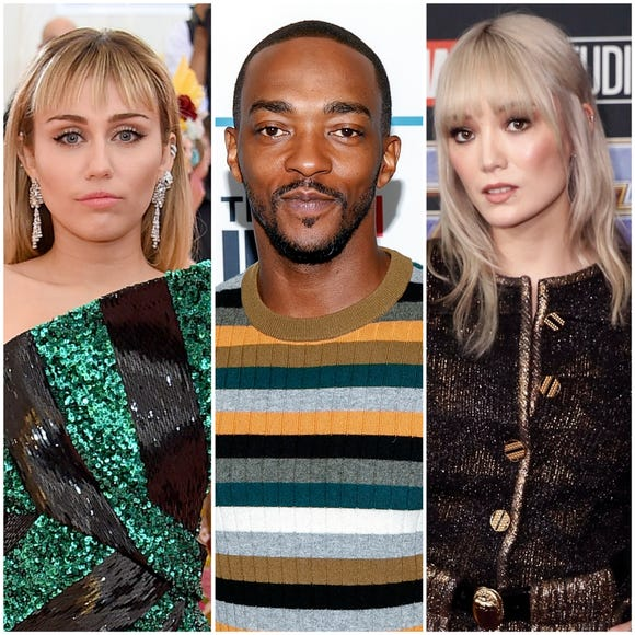 "Miley Cyrus, Anthony Mackie and Pom Klementieff all star in the fifth season of ""Black Mirror."""