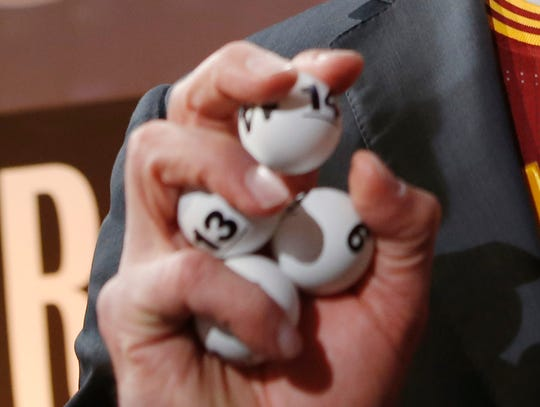 All eyes will be on the three-star ping pong balls used in Tuesday night's NBA Draft Lottery.