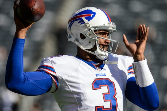 EJ Manuel appeared in 28 games over four seasons with the Bills.