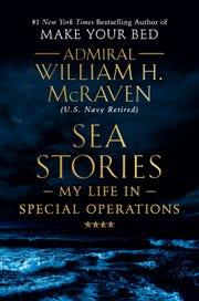 In his new book, being published by Grand Central Publishing, retired Admiral William McRaven reflects on the military tradition of expressing nothing but regard for the presidents he served in top jobs, George W. Bush and Barack Obama.