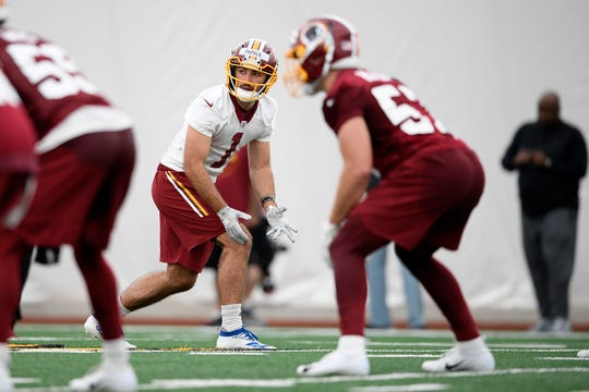 """Like his father who was immortalized in the move """"Invincible,"""" Vinny Papale is trying to reach the NFL."""