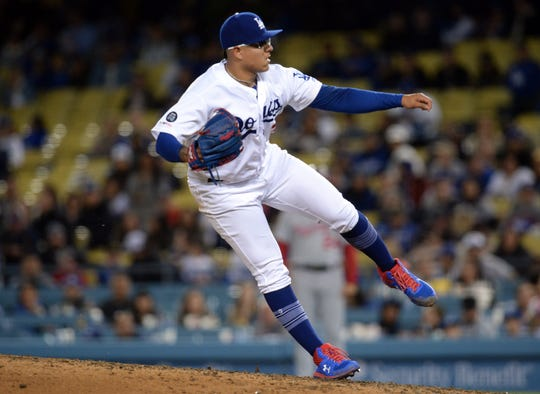 Julio Urias, 22, is 2-2 with the Dodgers this season.