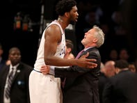 Joel Embiid defends 76ers coach Brett Brown amid 'BS' rumors