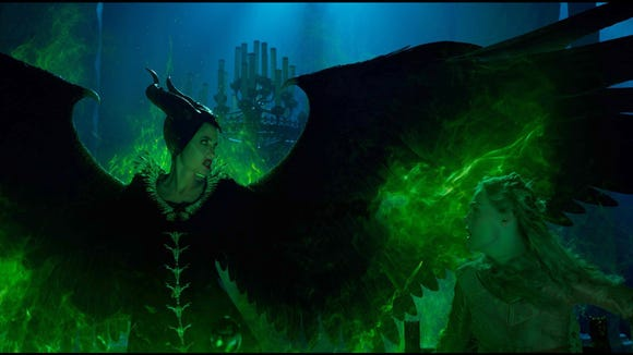 "Angelina Jolie returns in ""Maleficent: Mistress of Evil."""