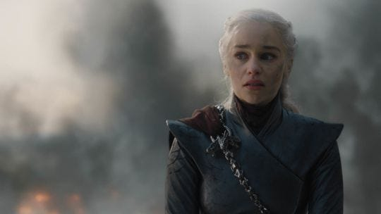 Daenerys of the House Targaryen; the First of Her Name; The Unburnt; Queen of the Andals, the Rhoynar and the First Men; Queen of Meereen; Khaleesi of the Great Grass Sea; Protector of the Realm; Lady Regent of the Seven Kingdoms; Breaker of Chains and Mother of Dragons.