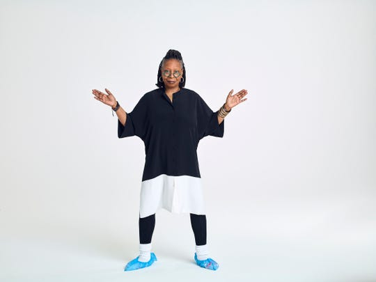 Whoopi Goldberg debuts her new clothing collection, DUBGEE.