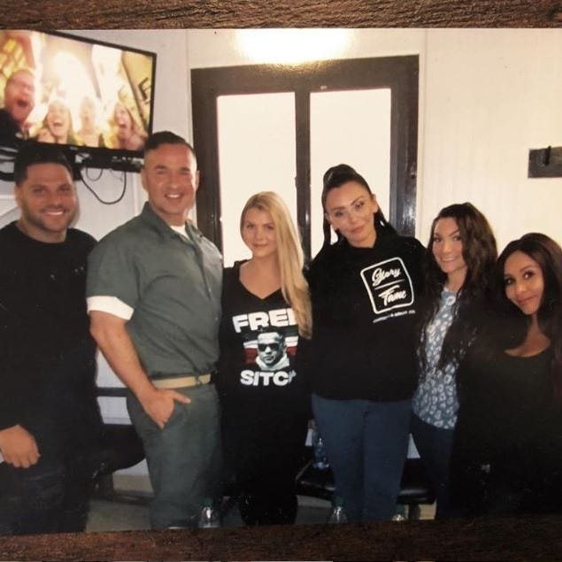 Mike 'The Situation' Sorrentino posts prison pic with more 'Jersey Shore' pals