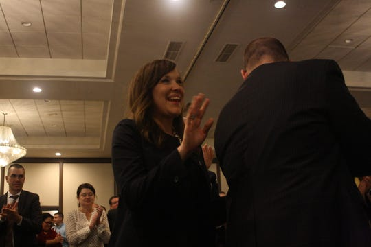 It was announced that Greater Binghamton Chamber of Commerce President and CEO Jennifer Conway would be leaving the chamber in June for a new job in the West.