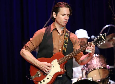 Austin-based blues-rocker Ian Moore and the Mescal 4 co-headline a July 13 concert.