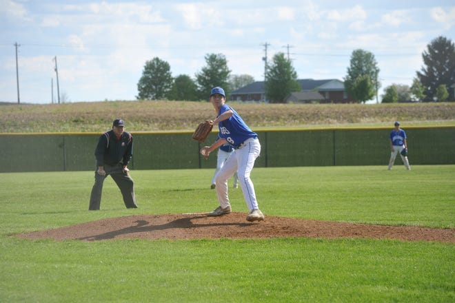 Caden Parsons will likely be one of the best pitchers in the area this season.