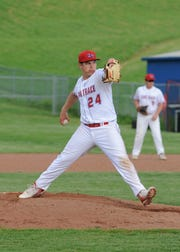 Zane Trace baseball defeated Gallia Academy 6-4 Tuesday night at Zane Trace High School to advance the Pioneers to a Division II sectional final in Athens, Ohio.
