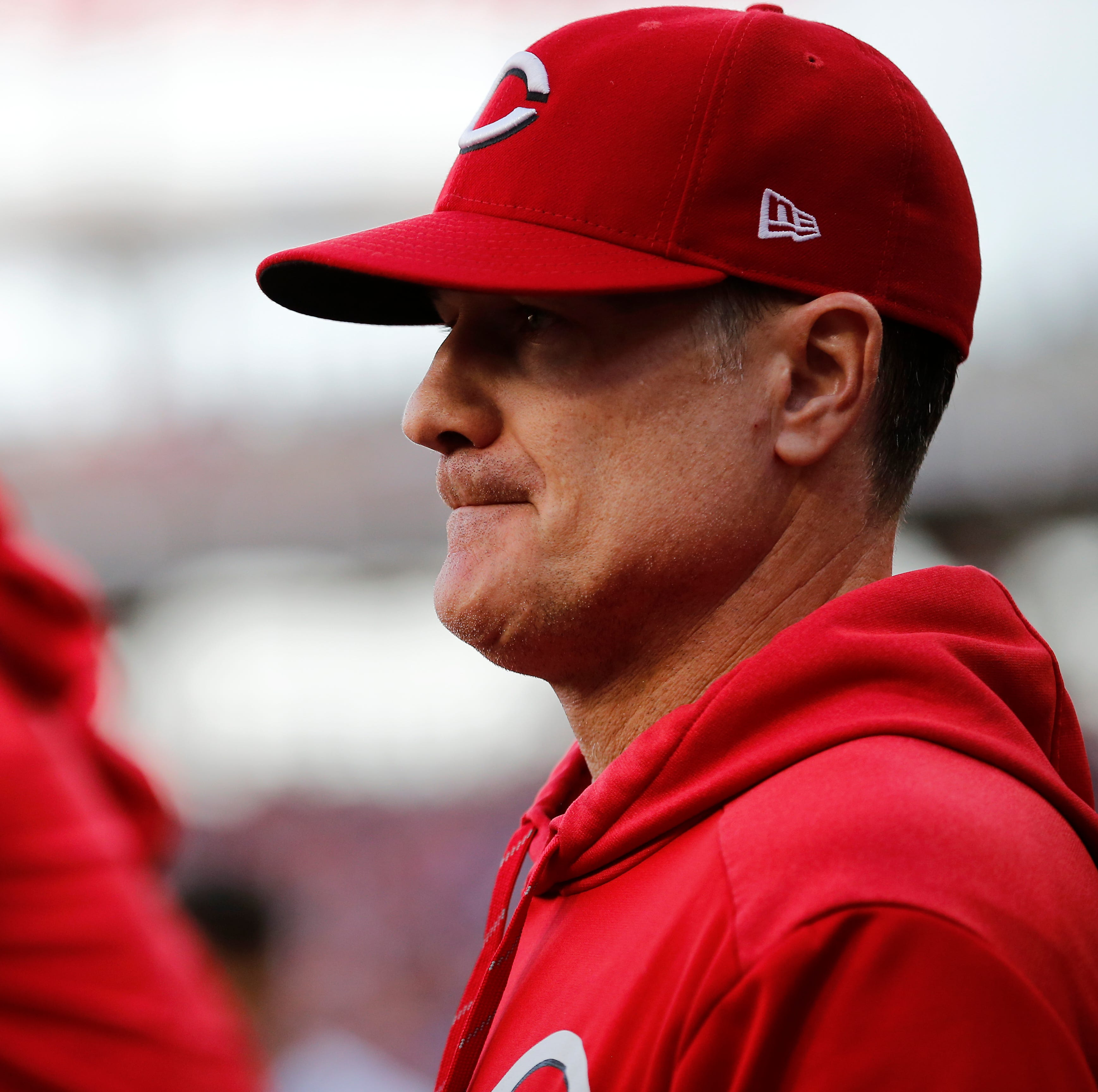 Are you encouraged or discouraged by the Cincinnati Reds' season so far?