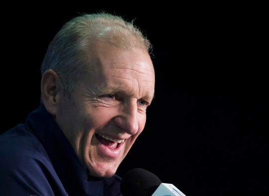 Ralph Krueger, 59, has spent the past five years as chairman of English Premier League soccer's Southampton FC.