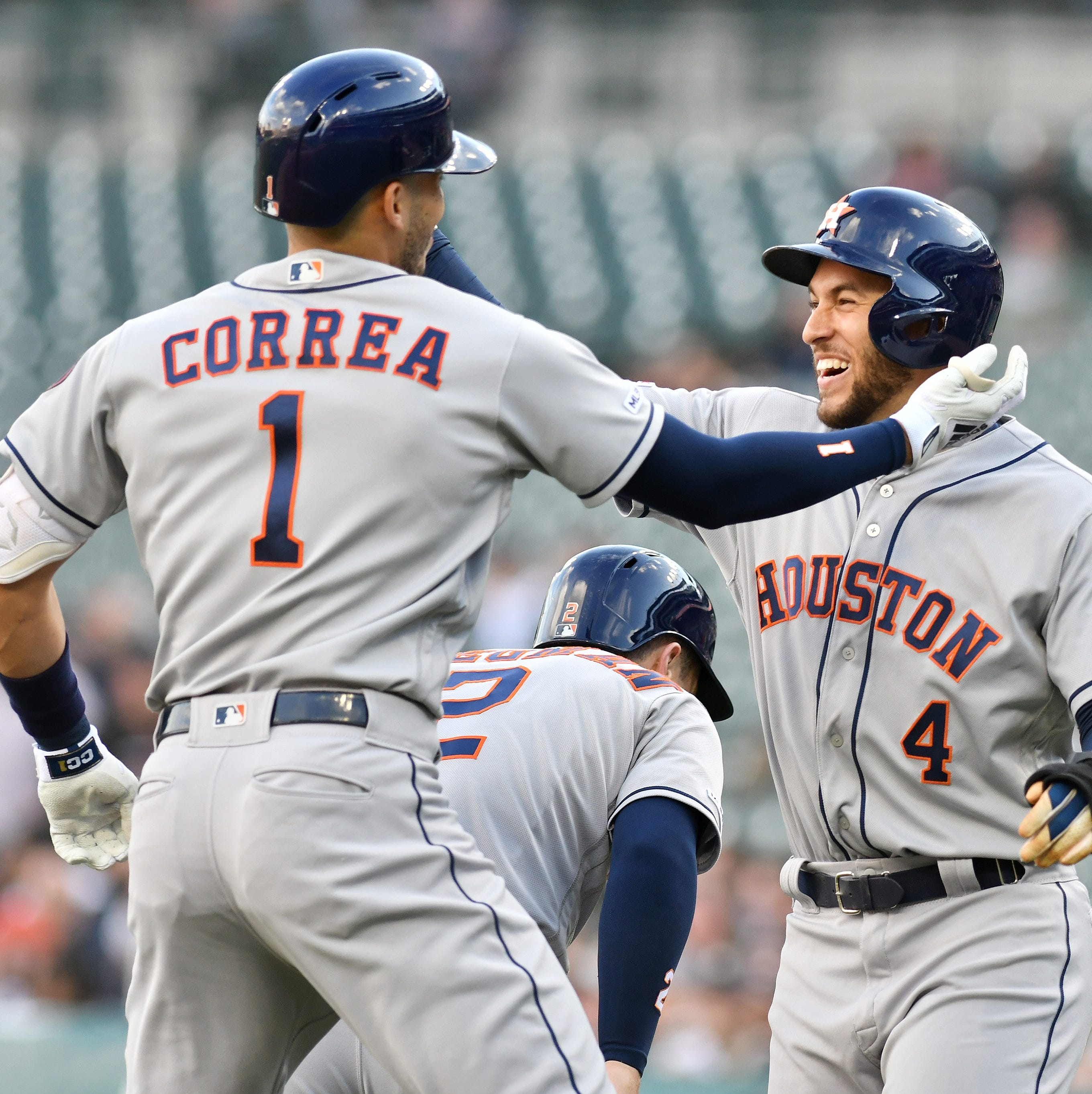 'Not a lot of options': Tigers' threadbare pitching staff no match for hard-hitting Astros