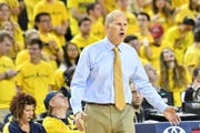 Former Michigan coach John Beilein will have the Nos. 5 and 26 picks in the NBA Draft as new coach of the Cleveland Cavaliers.