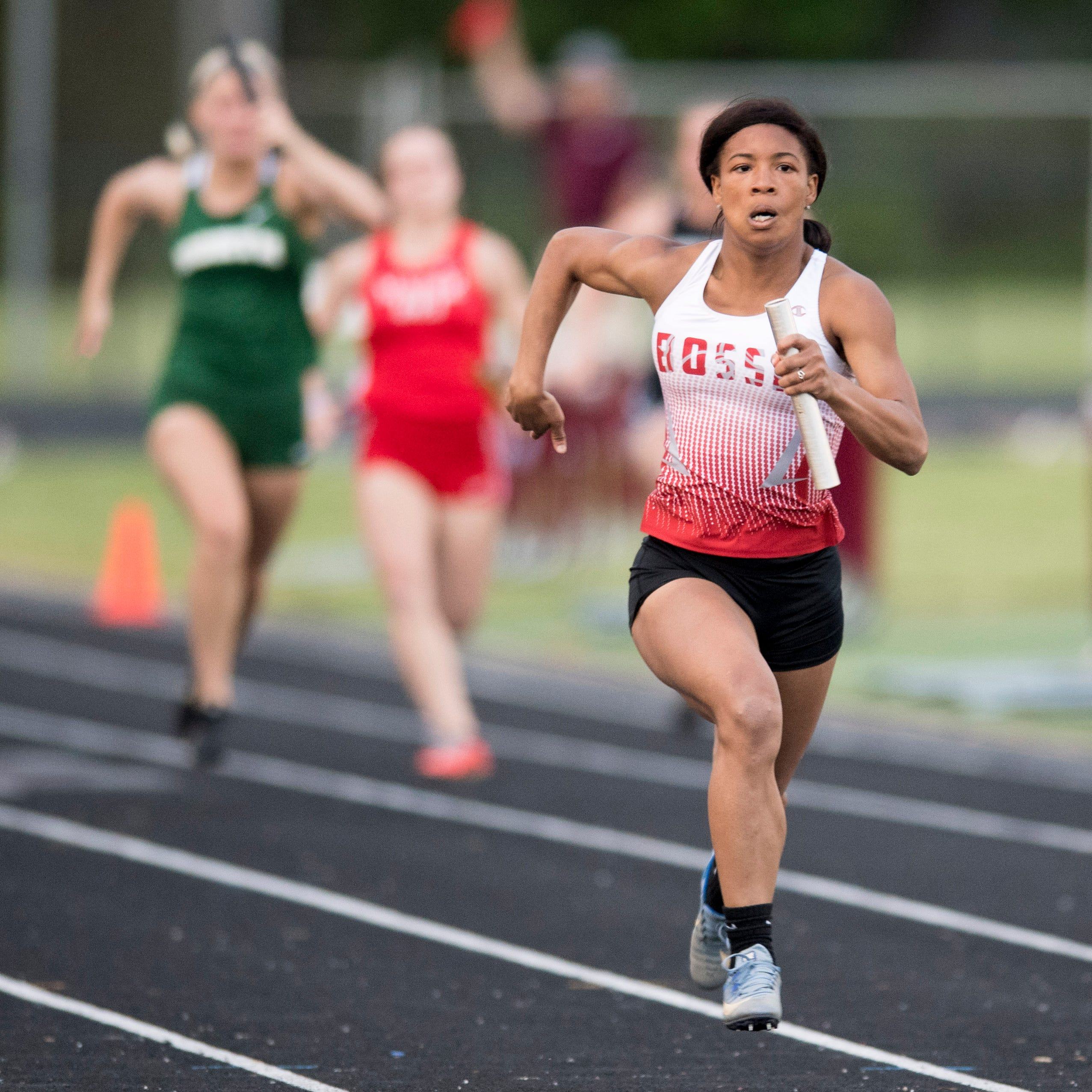 Bosse's Brigham wins four events, Memorial girls take Mount Vernon Sectional girls' title