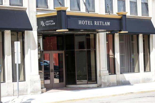 Jazzmine's Brasserie restaurant can be found inside the Hotel Retlaw, 1 N. Main St.