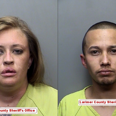 2 arrested after vehicle pursuits, evading arrest on Larimer County farm Monday night