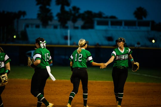Fort Myers played Estero during the Class 7A regional semifinal on Tuesday, May 14, 2019 at Estero High School in Estero.