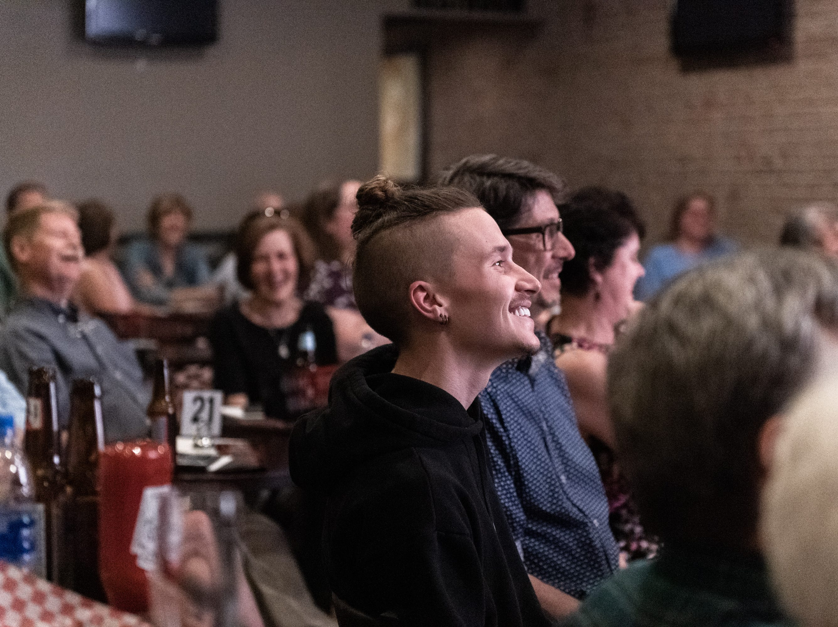 The Greenville News held its Greenville Storytellers Project event at the Comedy Zone Tuesday, May 14, 2019.