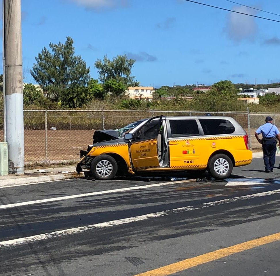 61-year-old man dead after taxi crashes in Tamuning