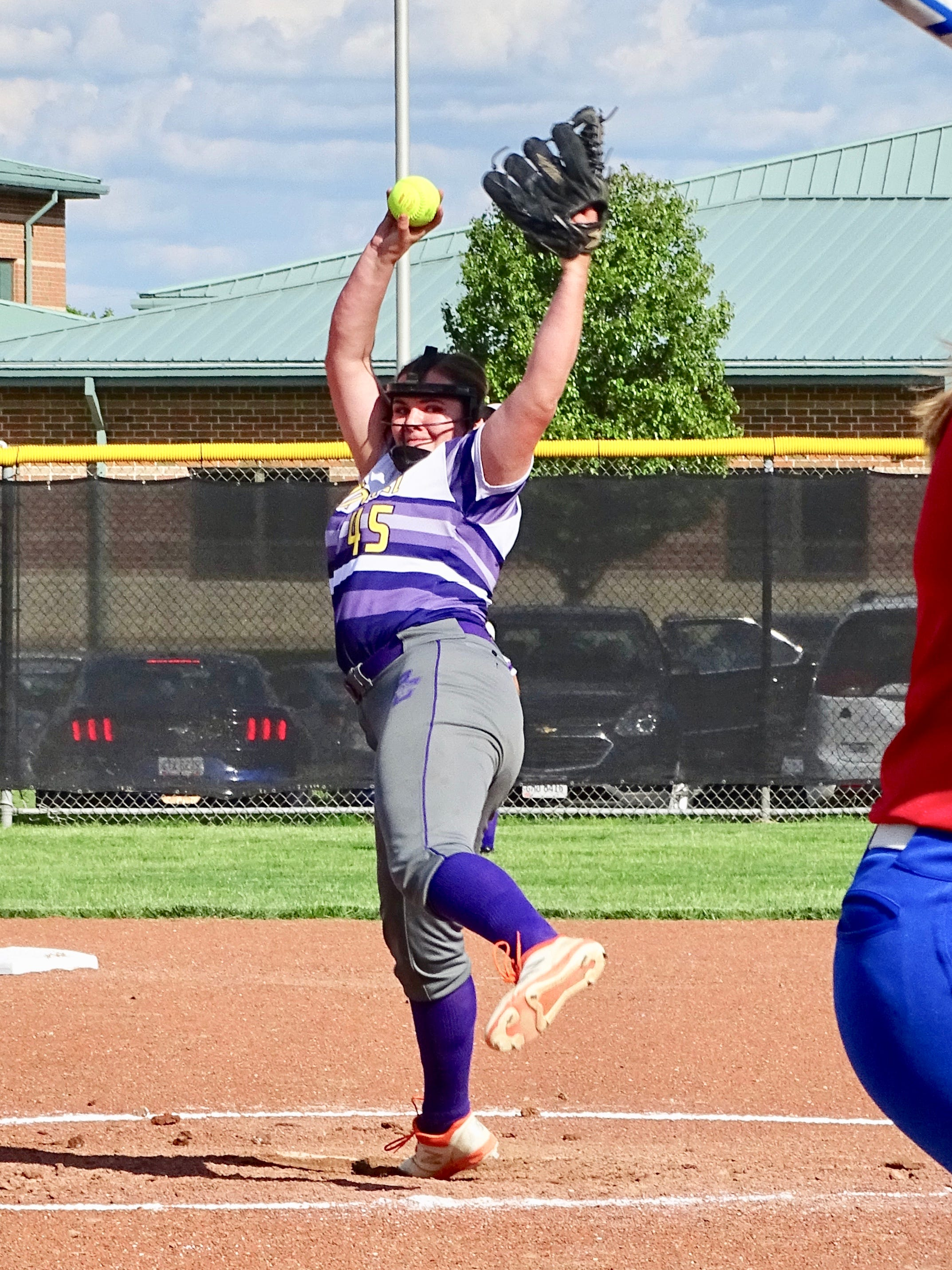 Bloom-Carroll freshman pitcher Lexi Paulsen gave up six hits and struck out 12 in the Bulldogs' 10-3 Division II district semifinal win over Licking Valley Tuesday at Pickerington North.