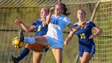 Watch all five goals in Novi's 3-2 girls' soccer victory over Hartland.