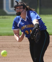 Ontario's Corrine Fanello returns to the Lady Warriors as a dominant pitcher in 2021 which could be the year the Lady Warriors win an MOAC title.