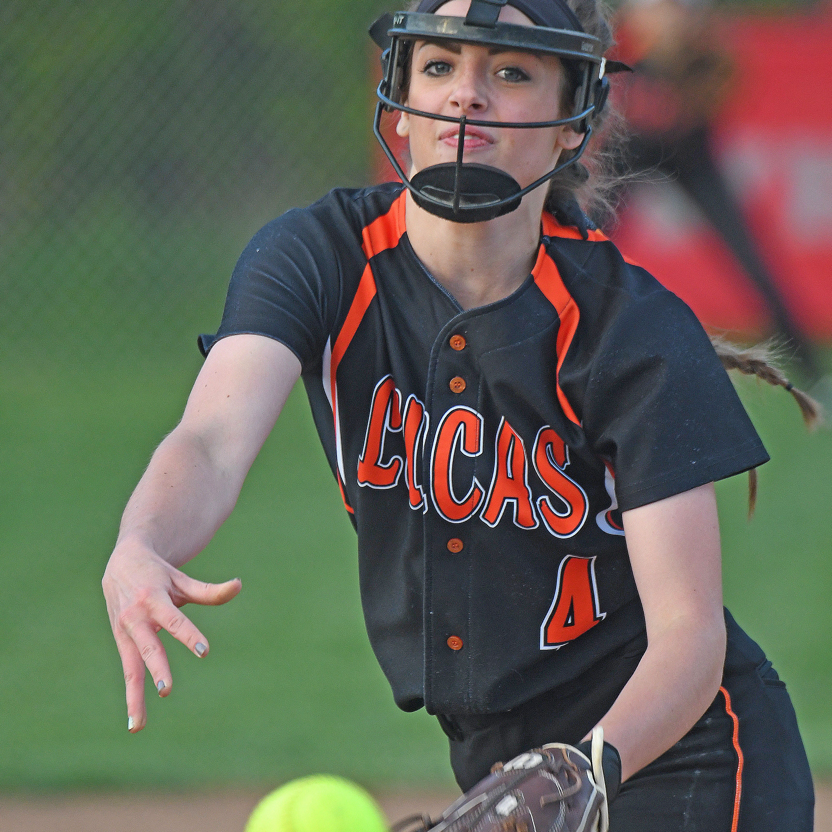 Tone set: Lucas Lady Cubs ride early momentum to win over Plymouth