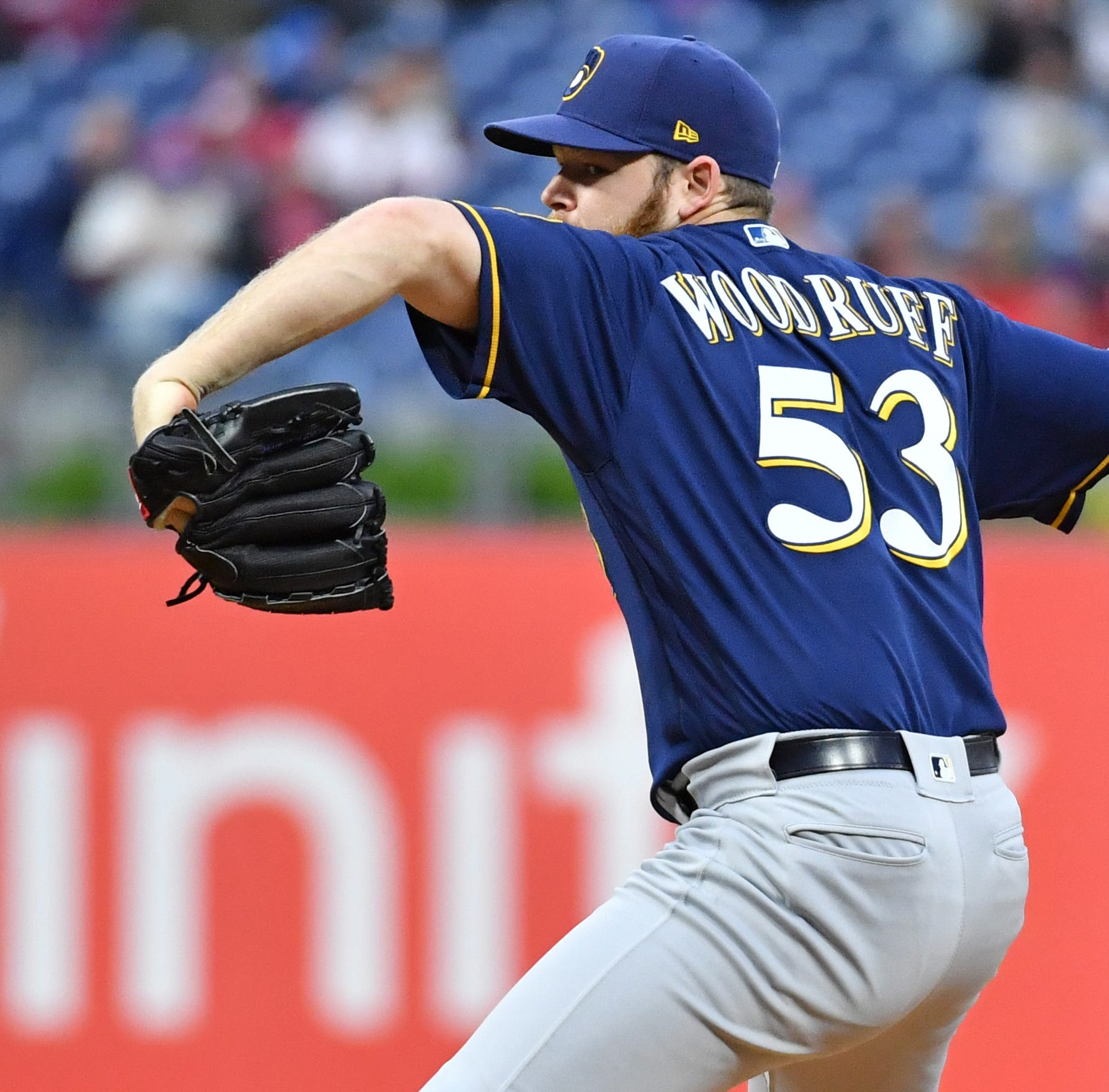 Brewers 6, Phillies 1: Brandon Woodruff continues his surge with six innings of shutout ball