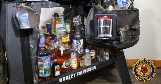 A booze bike packed with alcohol is up for raffle from American Legion Post 133 in Millbrook.