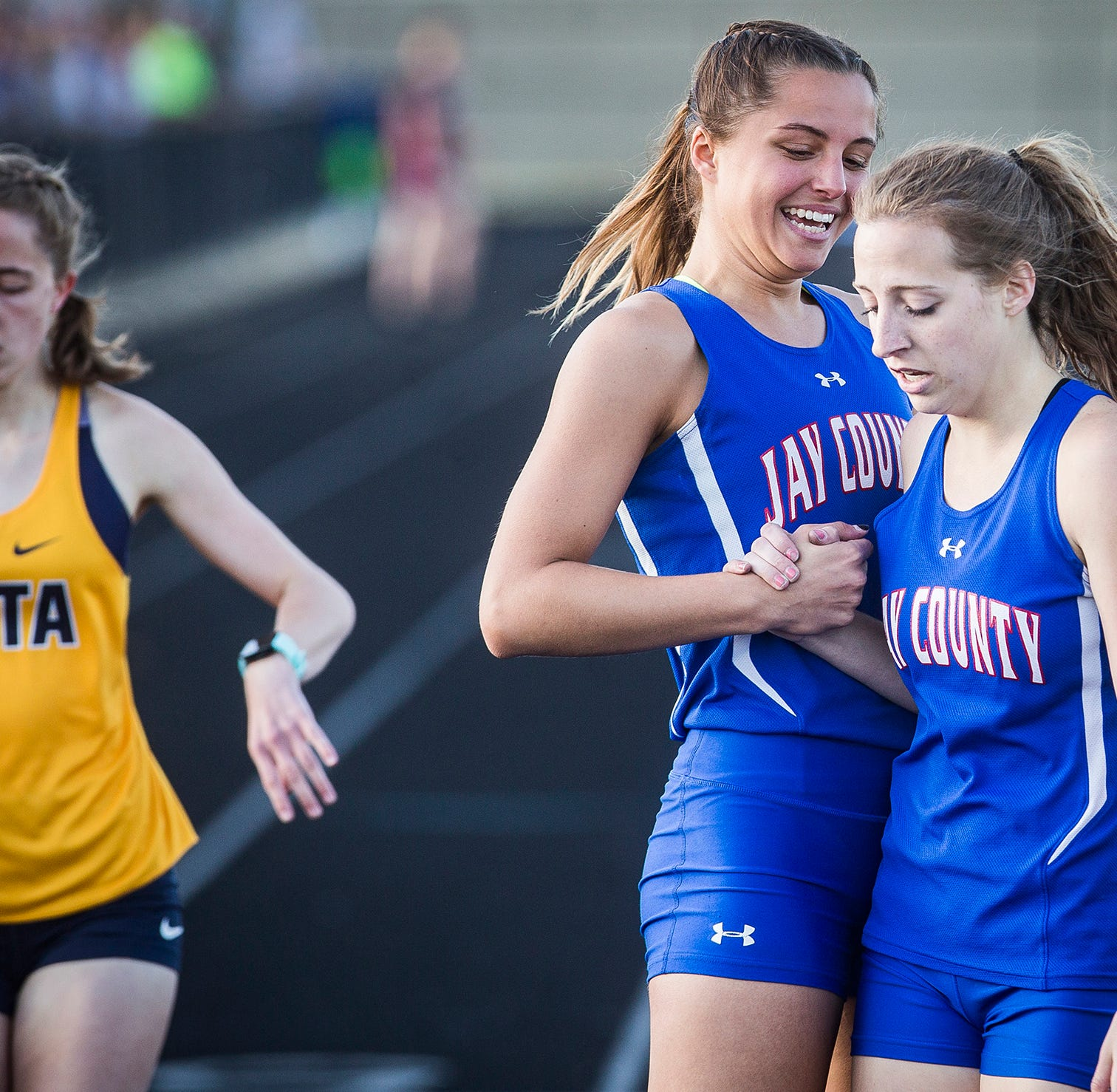 Jay County wins first girls track and field sectional title since 2014