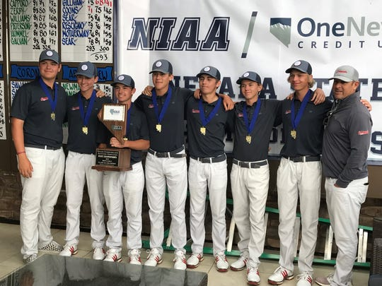 Coronado won the boys 4A state golf tournament on Tuesday at Somersett.